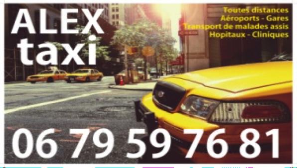 Alex Taxi logo