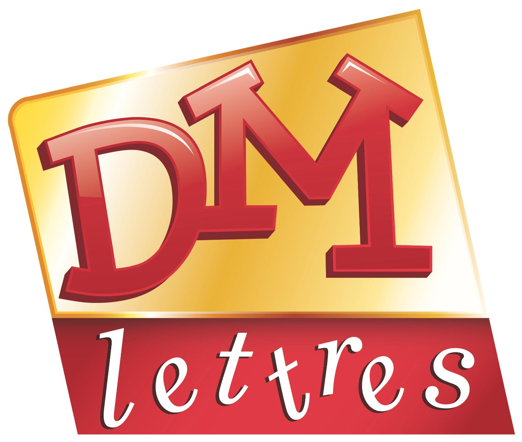 logo DM Lettres