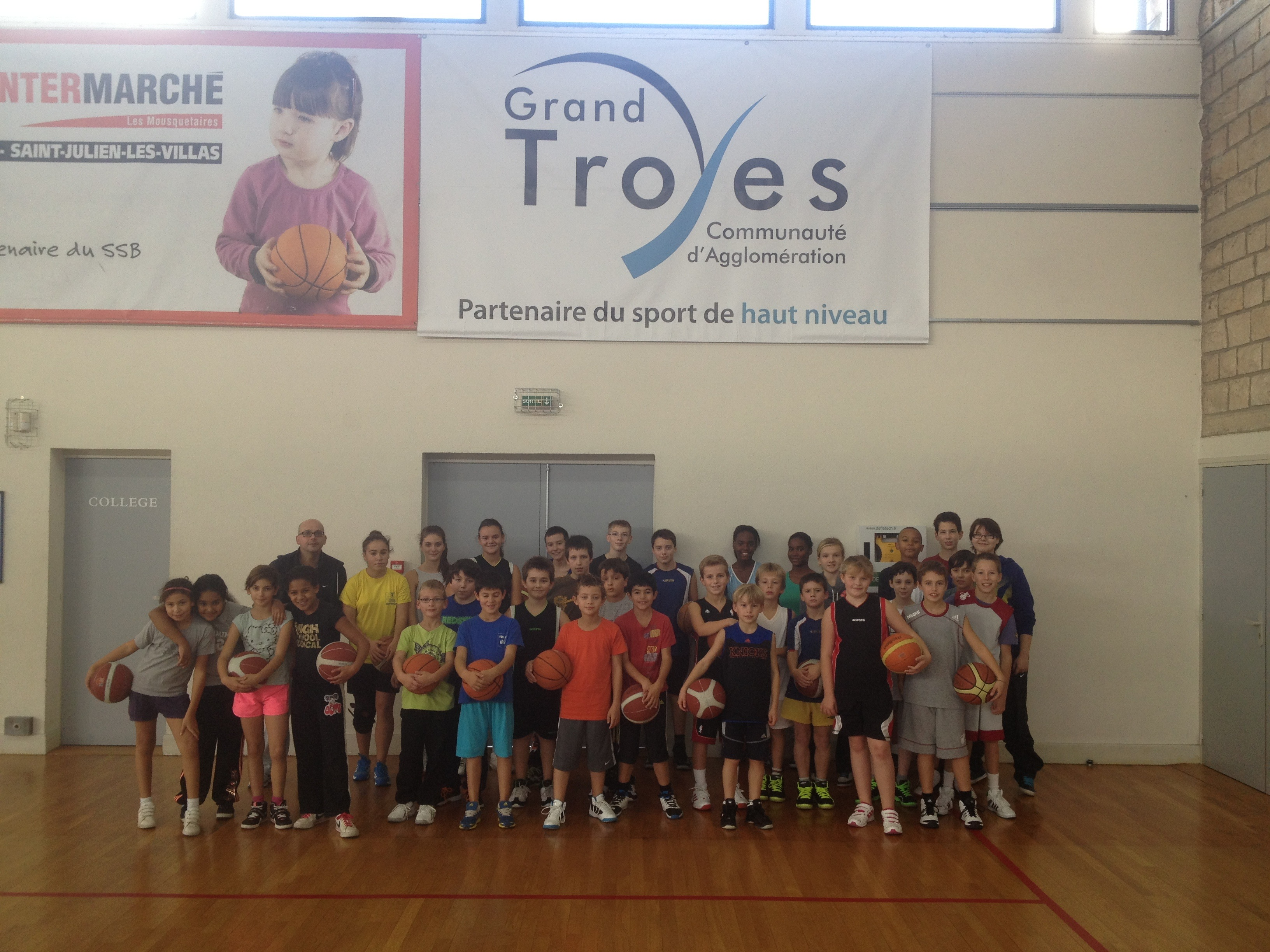 Stage toussaint - Grand Troyes 2013
